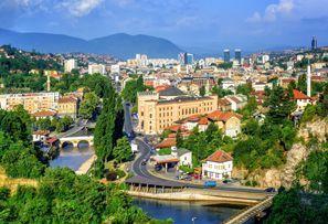 Szállás Szarajevo, Bosznia-Hercegovina