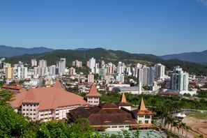 Szállás Brusque, Brazília