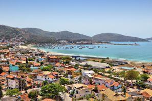 Szállás Cabo Frio, Brazília