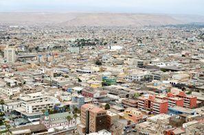 Szállás Arica, Chile