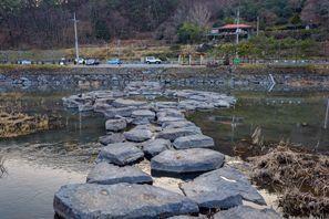 Szállás Jeol-la, Dél-Korea