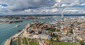 Szállás Portsmouth, Egyesült Királyság