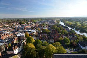 Szállás Worcester, Egyesült Királyság