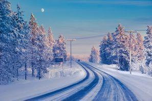 Szállás Ivalo, Finnország