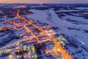 Szállás Kittila, Finnország