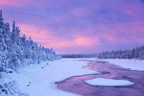 Szállás Muonio, Finnország