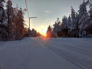 Szállás Pello, Finnország