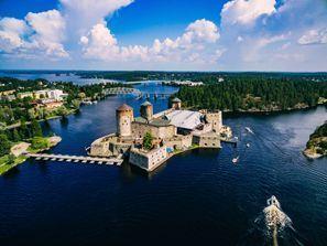 Szállás Savonlinna, Finnország