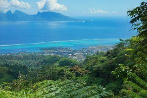 Szállás Moorea Sziget, Francia Polinézia