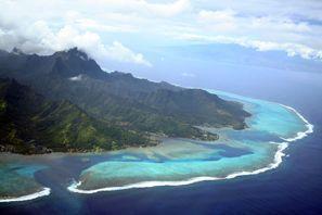Szállás Tahiti sziget, Francia Polinézia