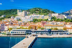 Szállás Ajaccio, Franciaország - Korzika