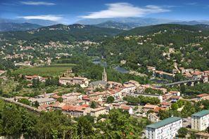 Szállás Aubenas, Franciaország
