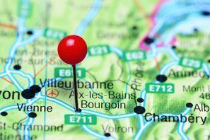 Szállás Bourgoin Jallieu, Franciaország