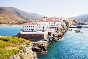 Szállás Andros, Görögország