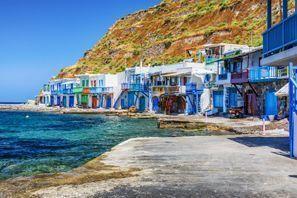 Szállás Milos, Görögország
