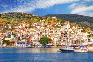 Szállás Skopelos, Görögország